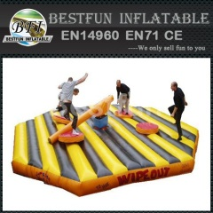 Redneck Log Slammer Inflatable Wipe Out Game