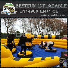 Inflatable Meltdown Ride Game For Adults