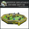 Inflatable Sweeper Meltdown Wipeout Eliminator Game