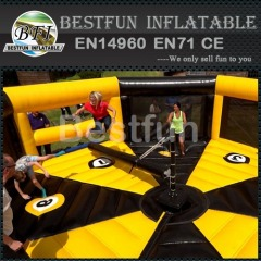 Inflatable log slammer interative games