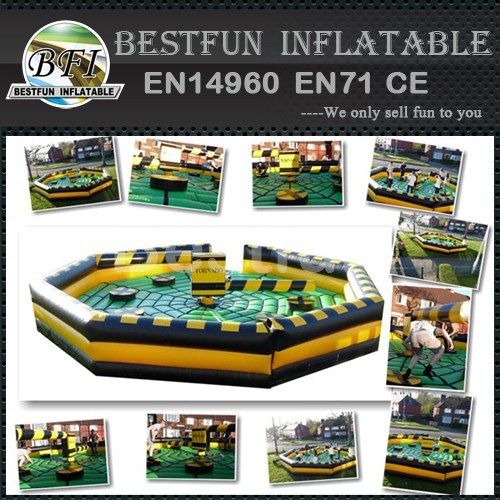Stimulate inflatable pole meltdown game