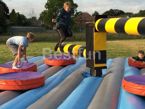 Wipeout Obstacle Inflatable Sweeper Game Manufacturers And