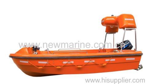 G.R.P Rescue boat -4.3M