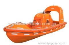 GRP Fast Rescue Boat