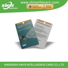 Passive PET MF PLUS-S RFID Card Printable Access Control Card