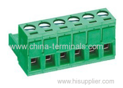 300V Pluggable terminal block pitch 5.08mm