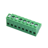 pcb pluggable terminal block connector 5.0/5.08MM-08p