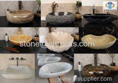 bathroom washing sink stone sink