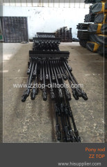 Oilfield Grade D Sucker Rod Pony Rod API 11B