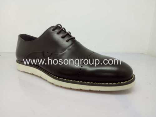 Manufacturing lace oxfords mens office shoes