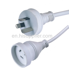 15A 250V SAA Approved Exension Leads