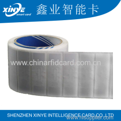 PET Adhesive RFID UHF Label Alien Higgs