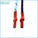custom log colorful round silica gel shoelace tips