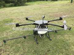 10 L payload carbon fiber agriculture drone with GPS ground station function
