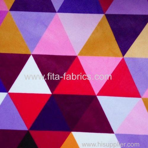 Digital printing french Velboa fabric