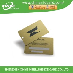 Plastic F08 RFID parking card