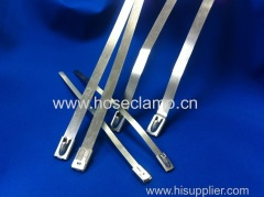 Nakde stainless steel cable tie series