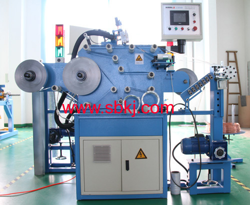 aluminum flexible duct /tube machine