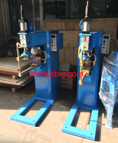 round pipe spot welding machine
