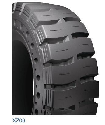 China Construction machinery forklift truck solid tire 6.00-9