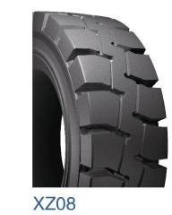 7.50-17 made in china pneumatic forklift solid tyre
