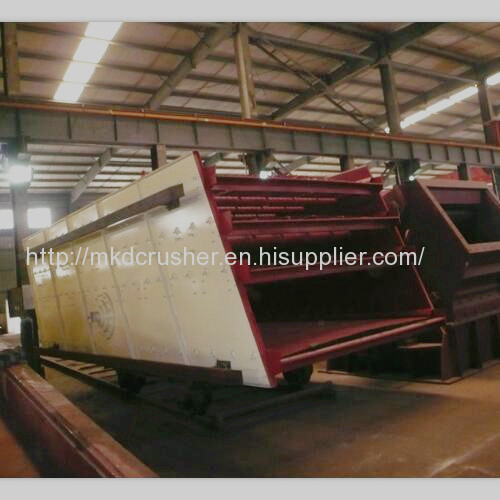 Four Decks Vibrating Screen For Crushing Plant