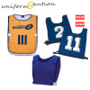 Custom sport training number bibs