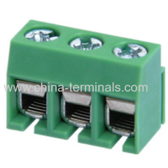pcb terminal block pitch/connector