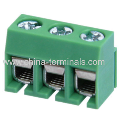 pcb terminal block pitch/connector from China manufacturer