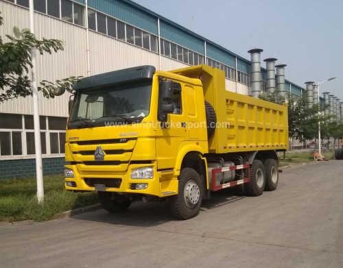 Ethiopia Truck Sinotruk HOWO 30 Tons 371 6X4 Heavy Duty Tipper/Dump Truck