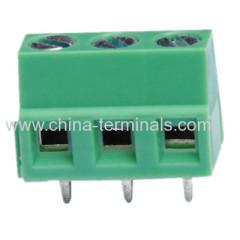 5.0/5.08mm screw pcb terminal block
