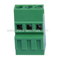 5.08mm screw pcb terminal blocks