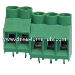 PCB terminal block connectorS