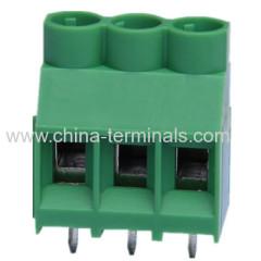 sparen Sie Zeit und Geld 2 Weg 16A PCB-Montage-Anschlussblock 6,35 mm