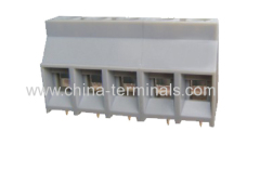 Terminal blocks and terminal block connectors