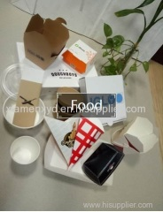 paper food packing box and bag manufacturer wholesale
