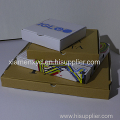 7-31 inch pizza box manufacturer wholesale price and sizes