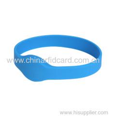 LF TK4100 RFID impermeabile Wristband in silicone
