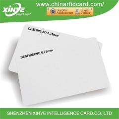 Printable HF PVC Blank RFID Card