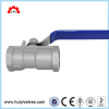 stainless steel 304 316 1000wog female thread 1-pc ball valve