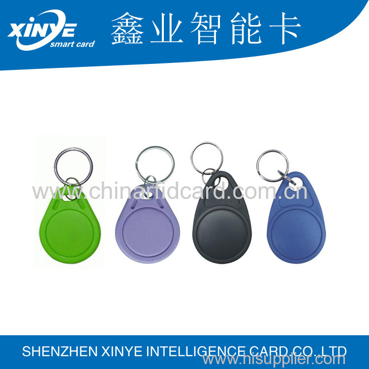 silicone rfid epoxy disc tag custom barcode with ISO 14443A and 125Khz and 13.56MHz rfid key tag for blank pet tags