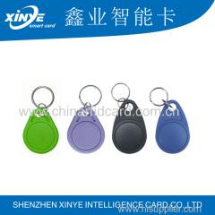 printiable rfid hotel key card tk4100/em4305/t5577 epoxy keychain