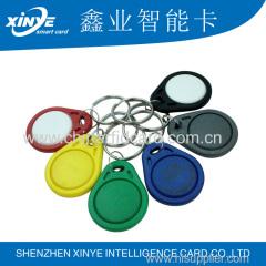 125 KHz Writable T557 rfid key tag/rfid key fob /Key Tag