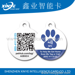 factory Contactless plastic mini RFID epoxy card for gym