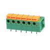 5.08mm 10A wire range 22-16 AWG PCB Spring Terminal Block