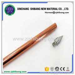 Copper and Stainless Steel Earthing Rod