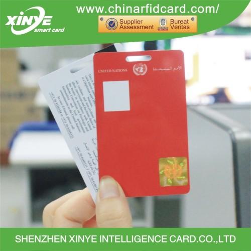 PVC ICODE SLI RFID Key Card with Hologram