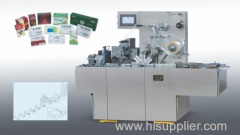 Transparent membrane packing machine