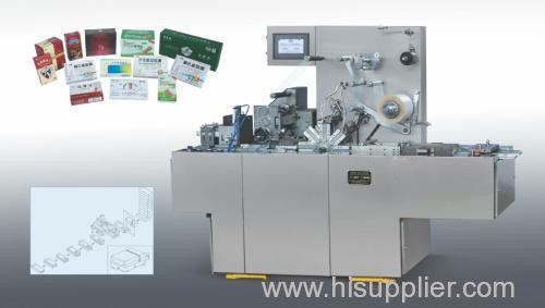 Transparent membrane packing machine