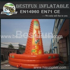 inflatable climbing wall sports game